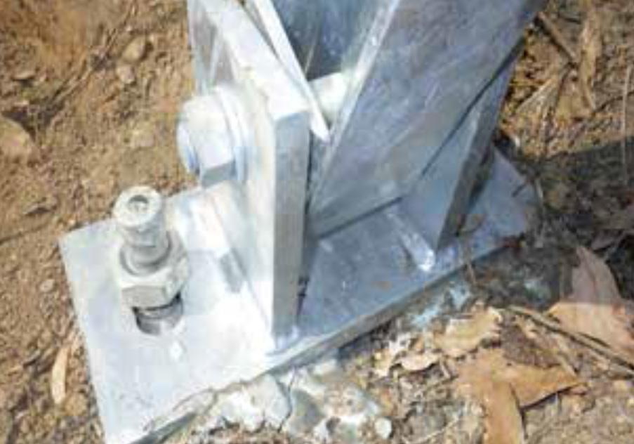 ケット支柱用 自穿孔アンカー